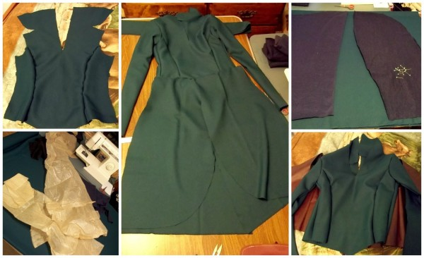 Tauriel Dress Progress