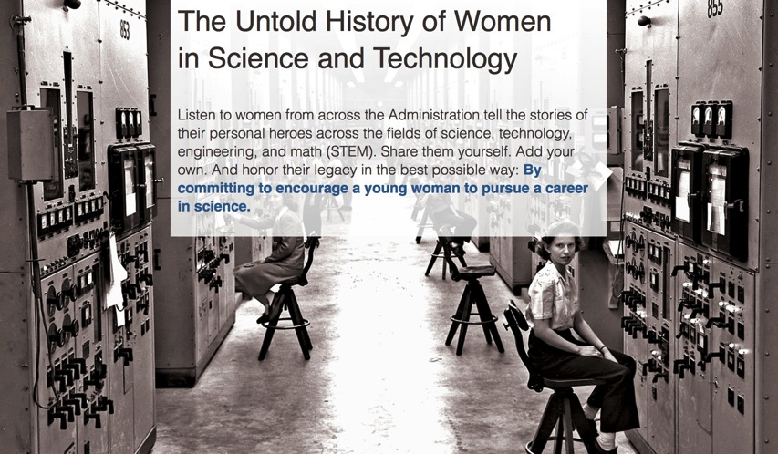 The Untold History of Women in Science and Technology The White House