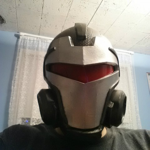 blood armor visor