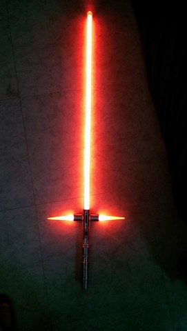 first tri blade lightsaber 2