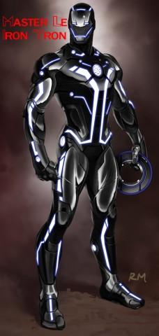 iron tron costume 2 - concept