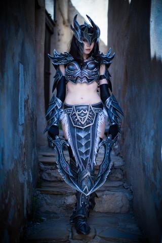 kamui skyrim daedric armor 1