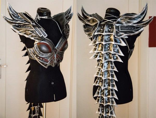 kamui skyrim daedric armor 3