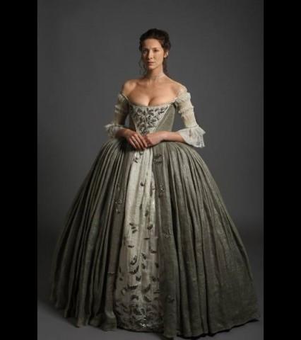 outlander wedding dress