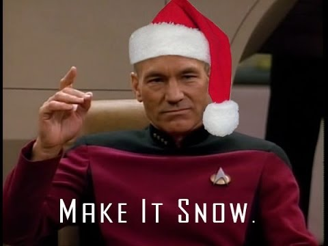 Picard Make It So Let It Snow Video Adafruit Industries Makers Hackers Artists Designers And Engineers