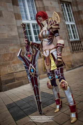 rohan online warrior costume 1