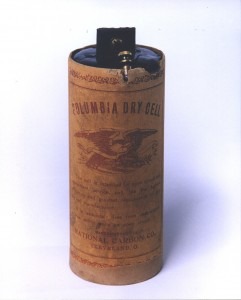 Columbia dry cell battery