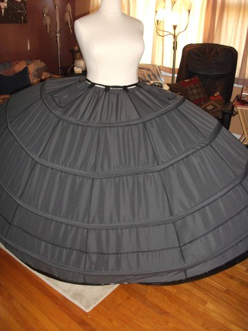 Death Star gown wip 2