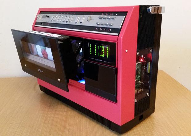 1981 Portable Vcr Raspberry Pi Media Centre Raspberry Pi