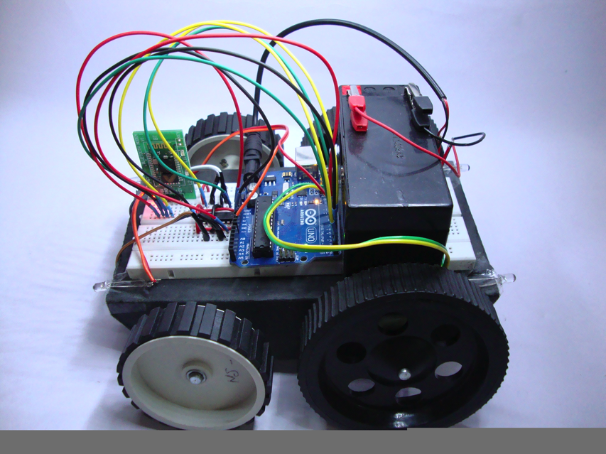 DIY Laptop Controlled Robot With Arduino