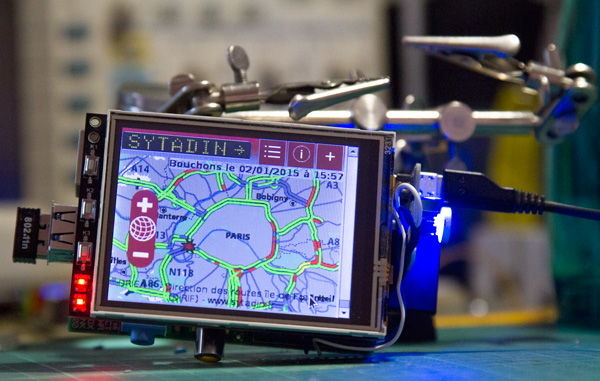 See Real Time Traffic Data With Raspberry Pi In Your Car