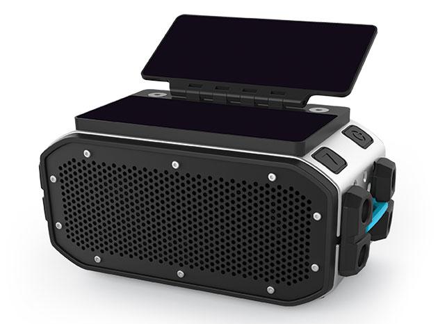 Sporty Solar Powered Bluetooth Speakers #SolarPower « Adafruit