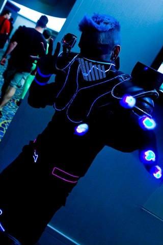 Ryan Brandt Electro Boi costume
