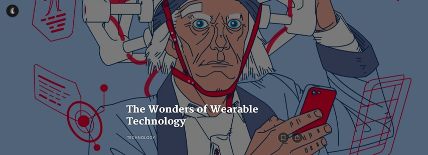 Timeline com The Wonders of Wearable Technology