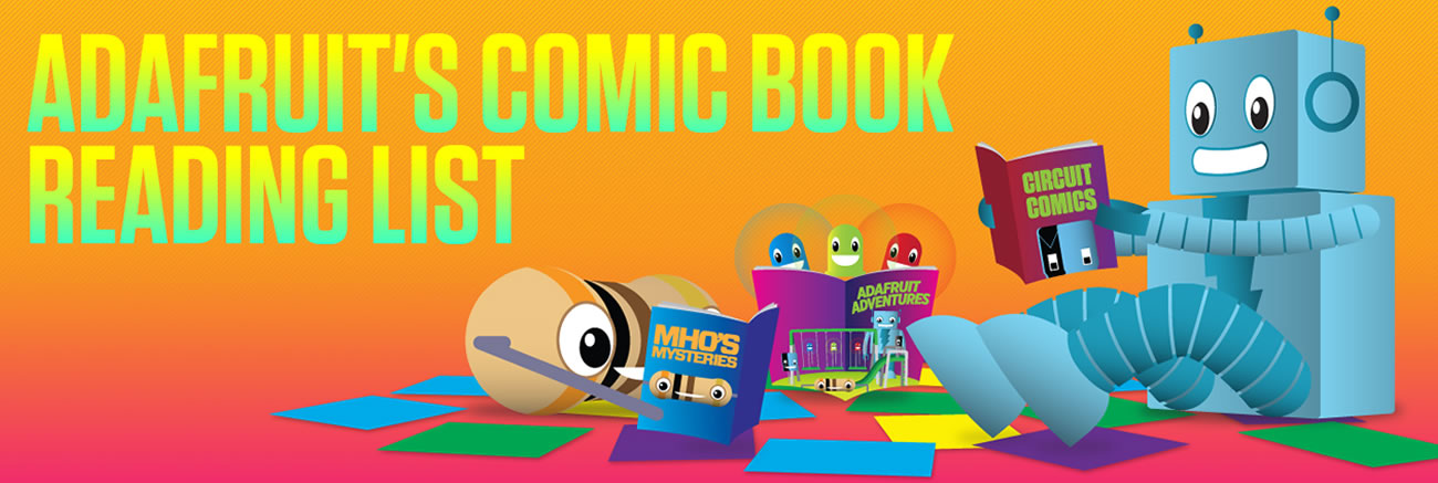 Adafruit's comic book reading list: M.F.K. by NIlah Magruder #adafruitcomics #blackhistorymonth @nilaffle
