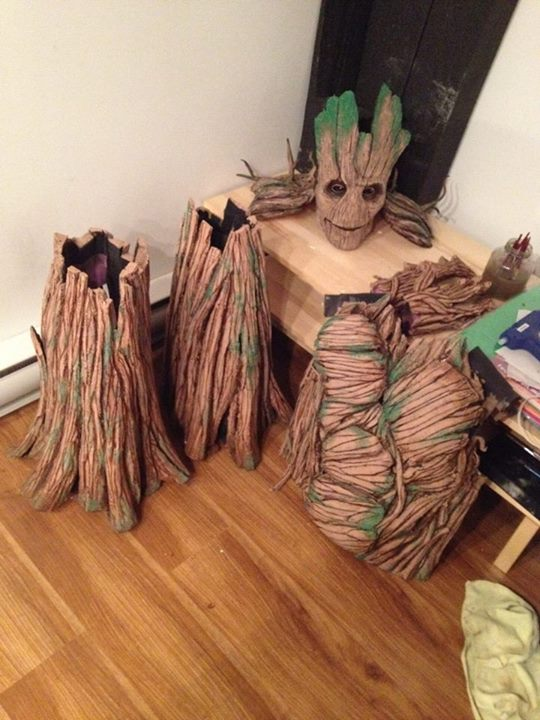 Groot Cosplay 171 Adafruit Industries Makers Hackers