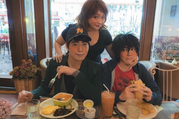 hiro and tadashi cosplay 3