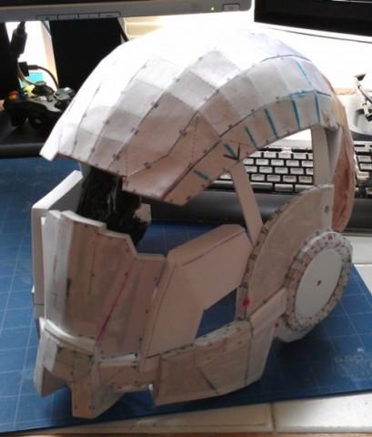 pepakura helmet