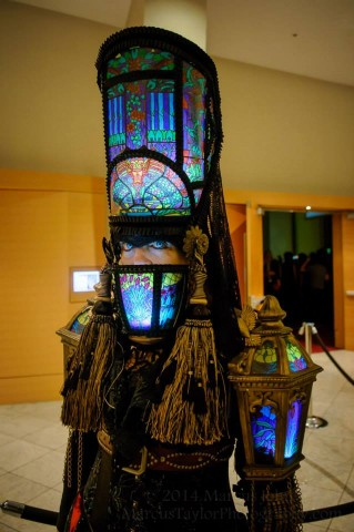 stained glass steampunk costume 3