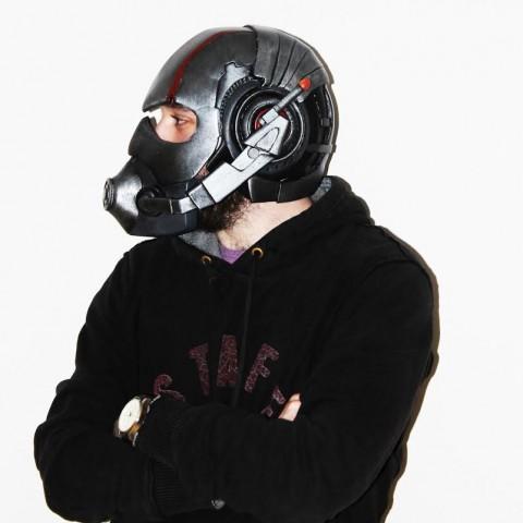 3d printed ant-man helmet 2