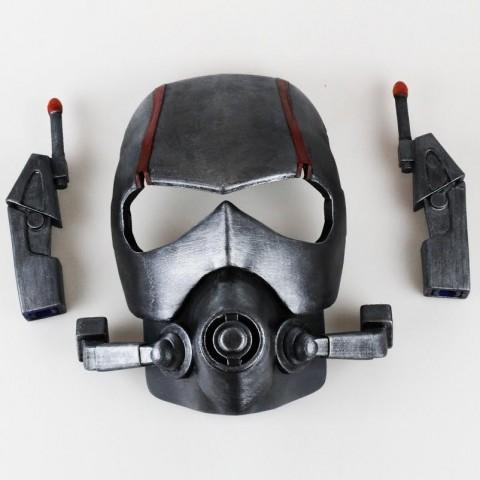3d printed ant-man helmet 3