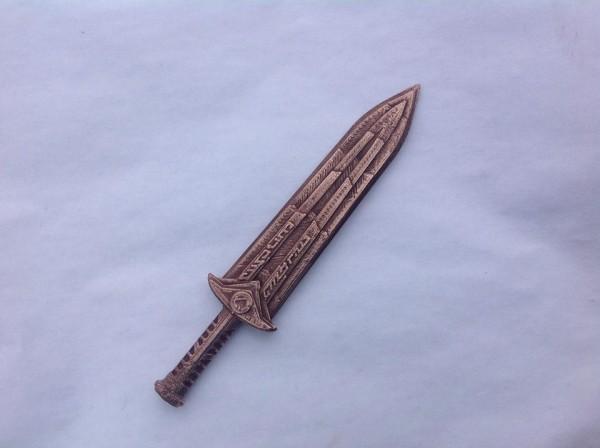 3d printed dwarven dagger