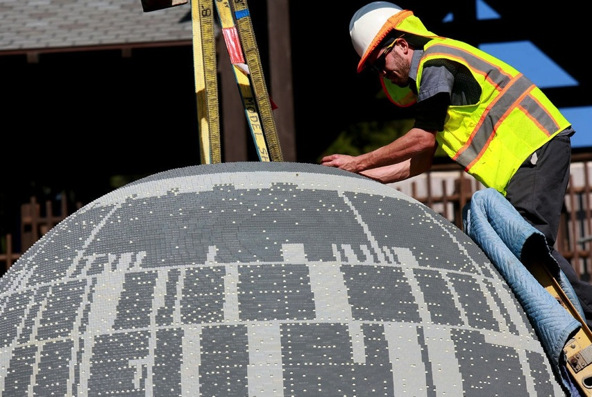 500 000 piece Death Star lands at Legoland pictures CNET Page 6