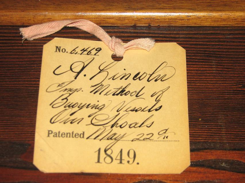 Abraham Lincoln's U.S. Patent