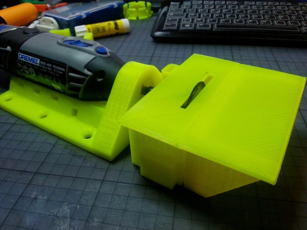 #3DPrinted Cutting Table for DREMEL #3DThursday #3DPrinting