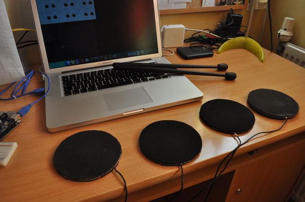 Midi arduino drums tutorial musicmonday « adafruit
