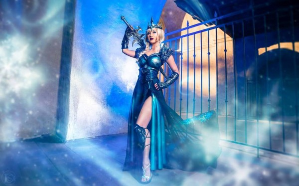 Lich Queen Elsa - photo by Darshelle Stevens