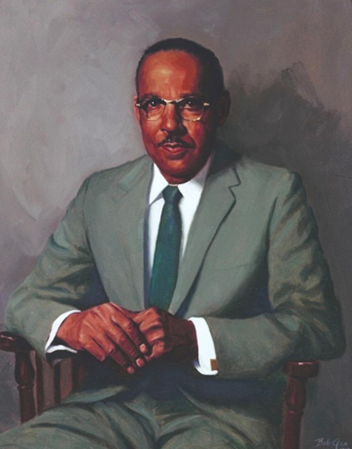Vivien T. Thomas (Portrait By Bob Gee)