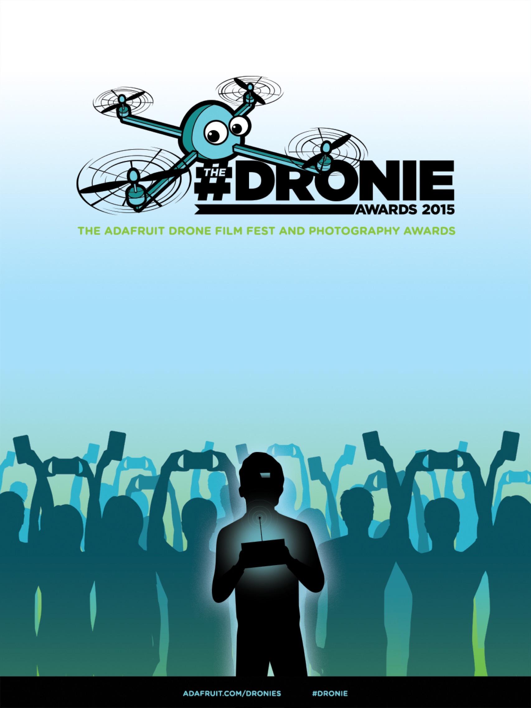 Adafruit Dronie Poster