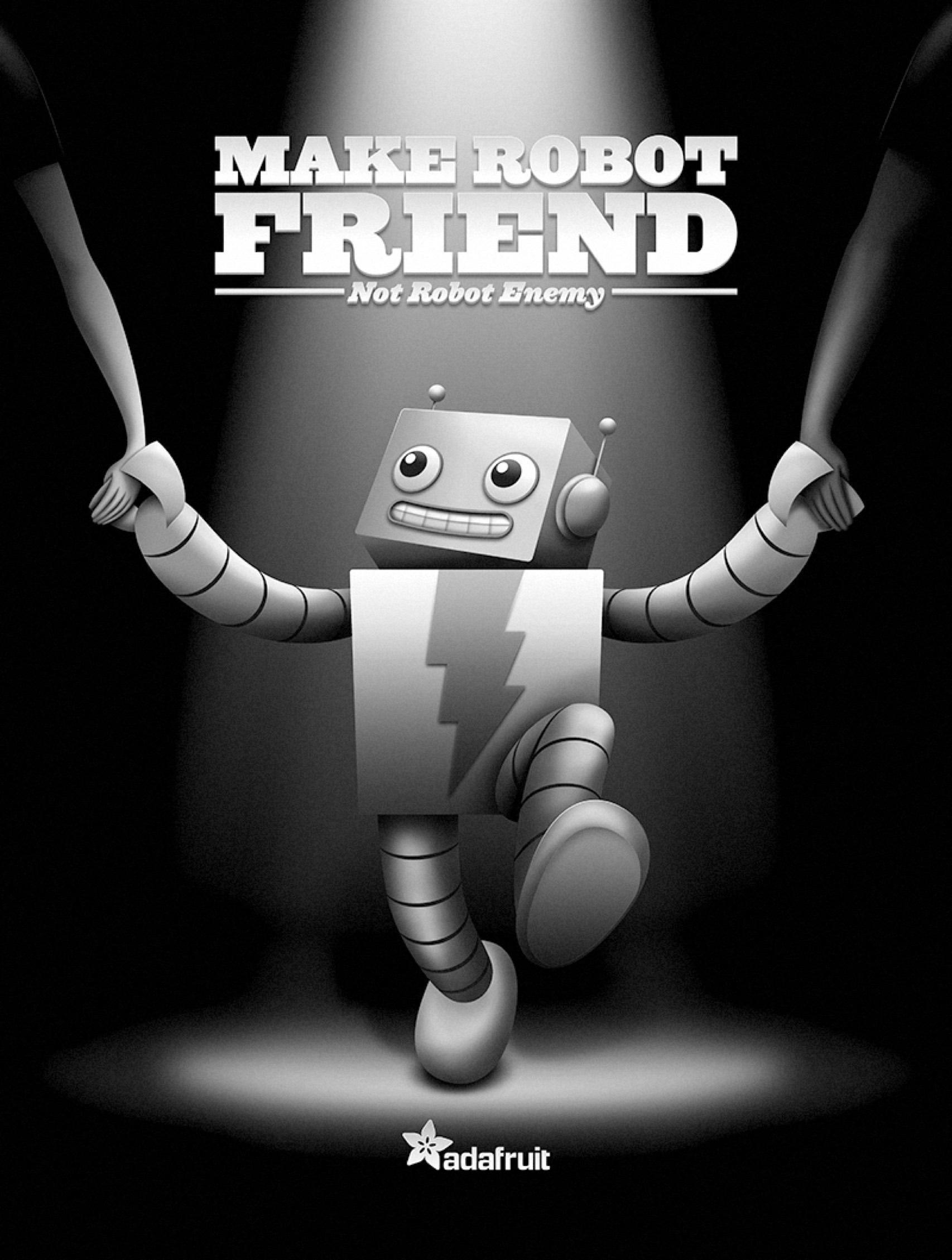 Adafruit Robot Friend Poster Final