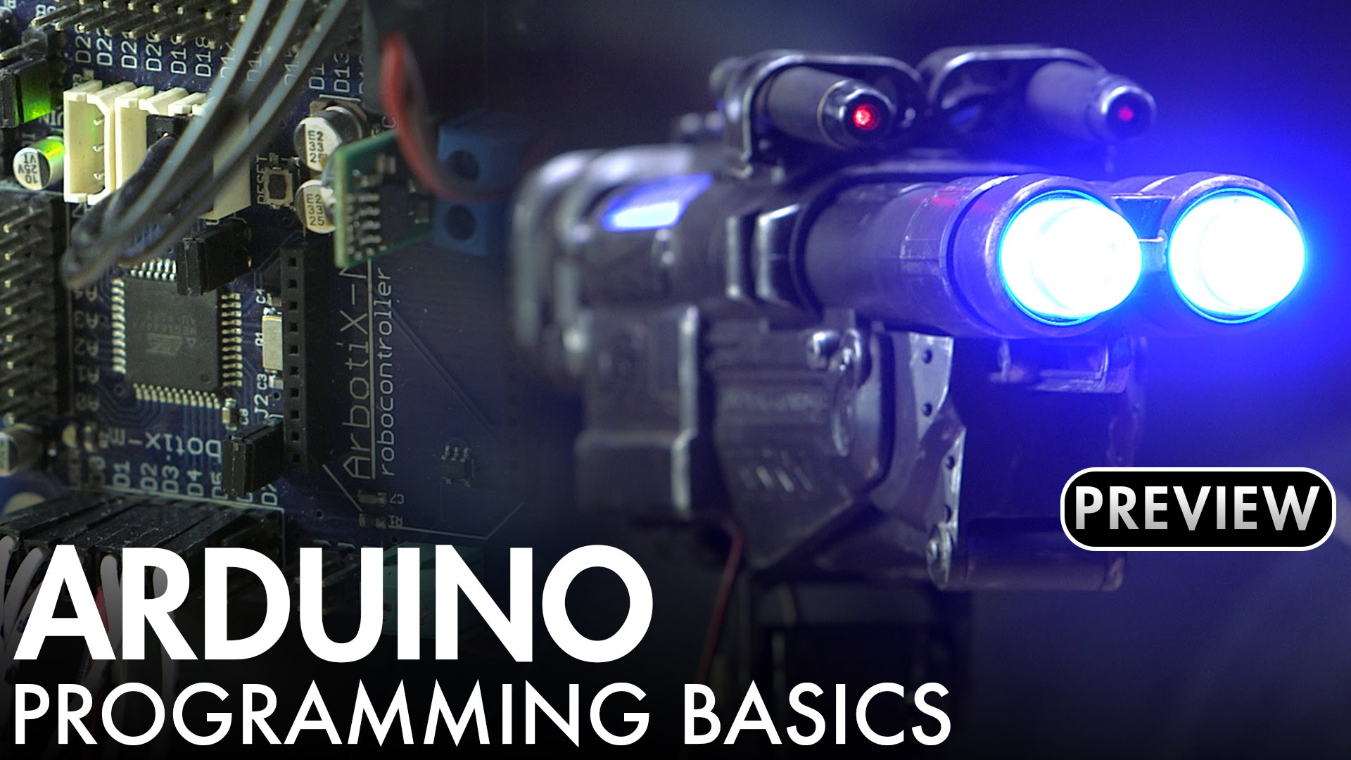 Arduino Programming for Animatronic Control Systems Webcourse