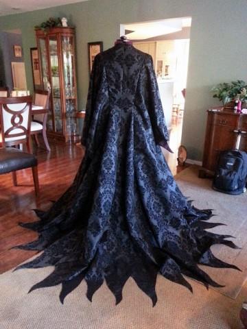 maleficent costume wip 1