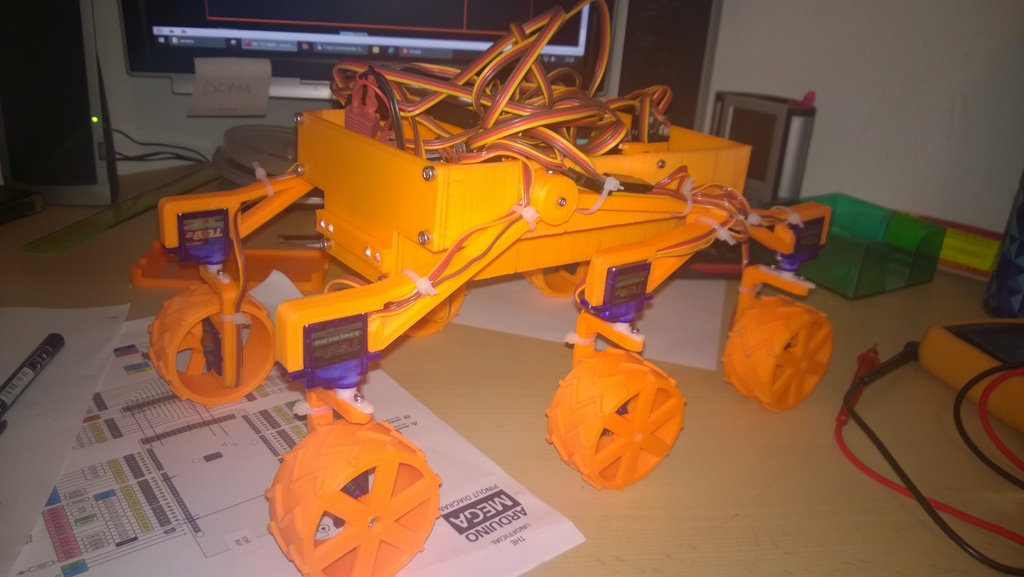 mars rover thingiverse - photo #36