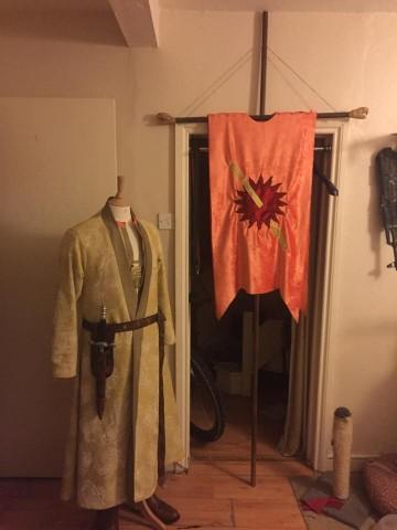 oberyn martell costume wip 1