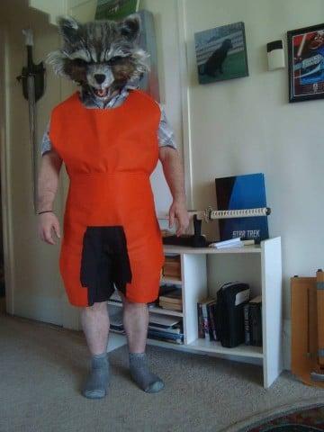 rocket raccoon costume 5