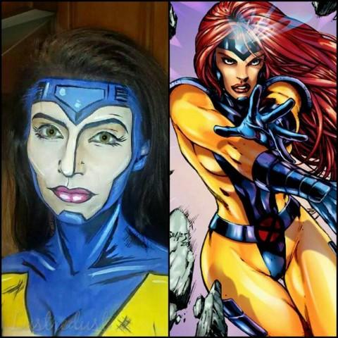 superhero makeup 1