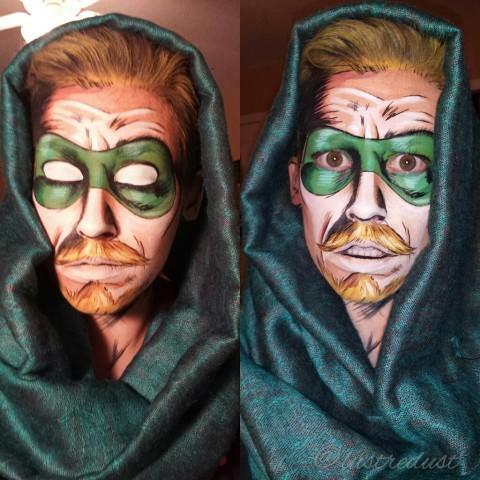 superhero makeup 4