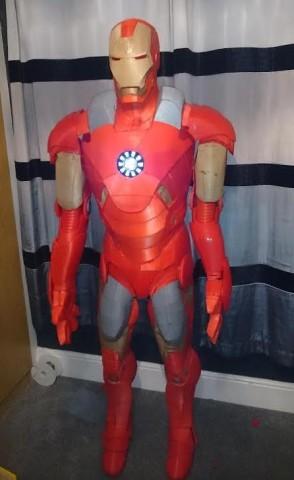 3D printed Iron Man 1