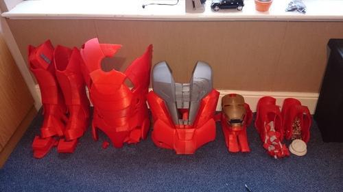 3D printed Iron Man 2