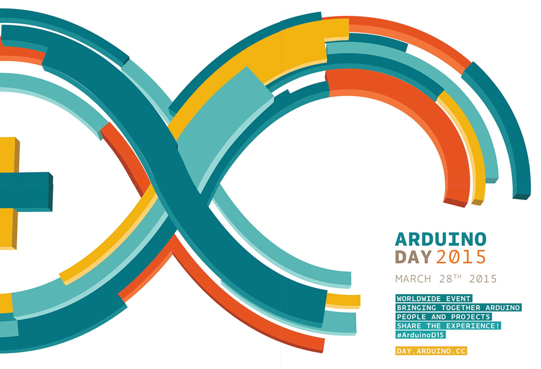 Happy arduino day use the code arduinoday on checkout and