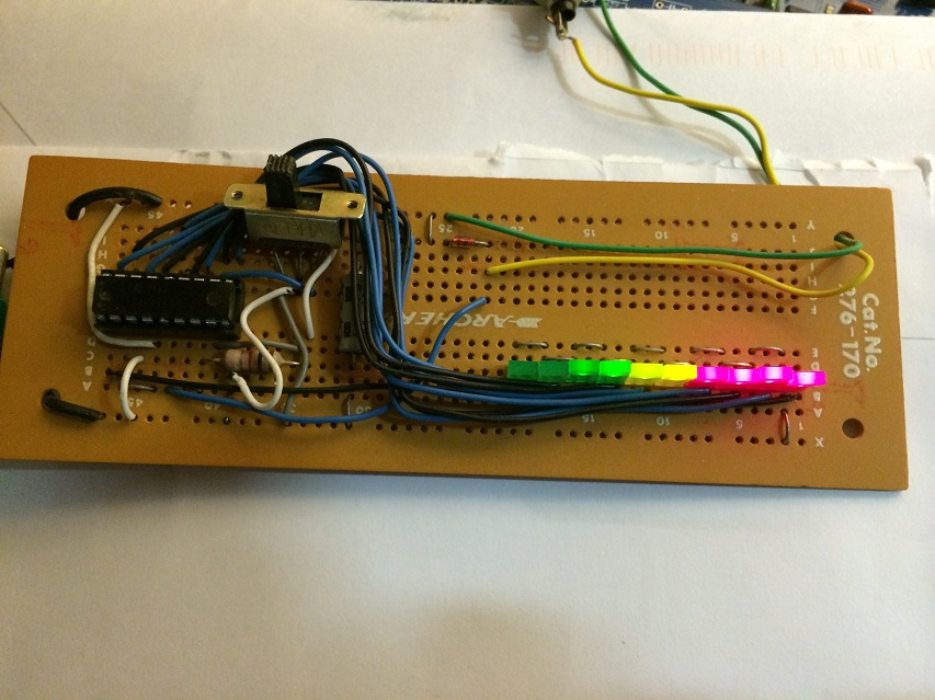 LED meter circa 1978