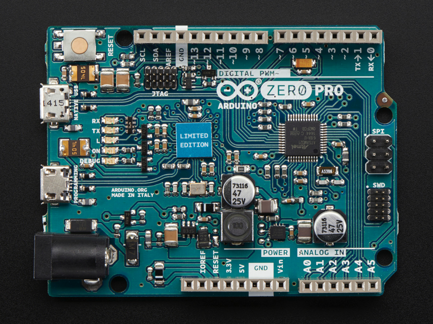 New product arduino zero pro bit cortex m