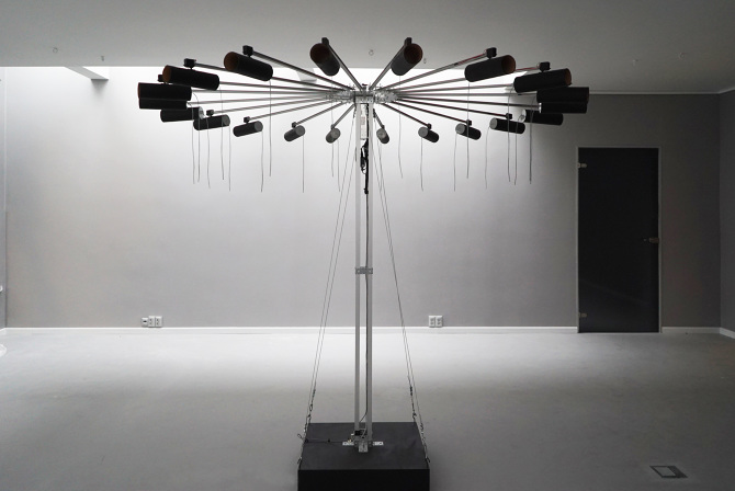 Kinetic sound installation with arduino arttuesday