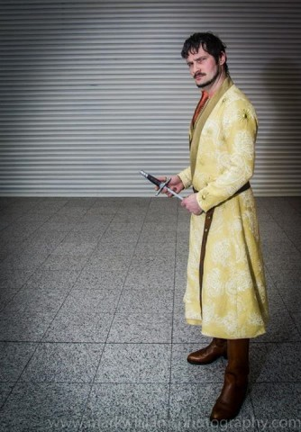 Oberyn Martell Cosplay Finished Game of Thron...