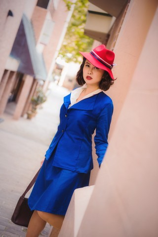 Peggy Carter Cosplay 1