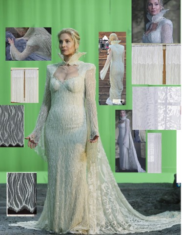 Snow Queen costume 2
